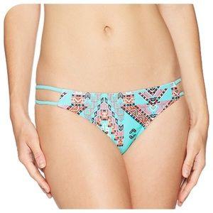 Mae Swimwear Trina Geo Swim Bottoms, L - NWOT